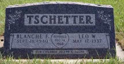 TSCHETTER, BLANCHE F - Hutchinson County, South Dakota | BLANCHE F TSCHETTER - South Dakota Gravestone Photos