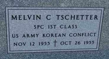 TSCHETTER, MELVIN C (KOREA) - Hutchinson County, South Dakota | MELVIN C (KOREA) TSCHETTER - South Dakota Gravestone Photos