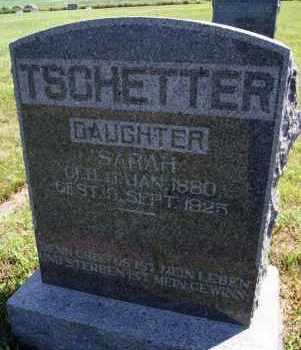 TSCHETTER, SARAH - Hutchinson County, South Dakota | SARAH TSCHETTER - South Dakota Gravestone Photos