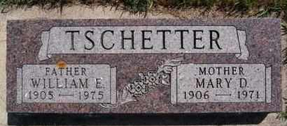 TSCHETTER, MARY D - Hutchinson County, South Dakota | MARY D TSCHETTER - South Dakota Gravestone Photos