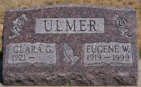 ULMER, CLARA G - Hutchinson County, South Dakota | CLARA G ULMER - South Dakota Gravestone Photos