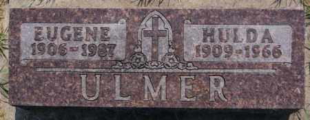 ULMER, HULDA - Hutchinson County, South Dakota   HULDA ULMER - South Dakota Gravestone Photos