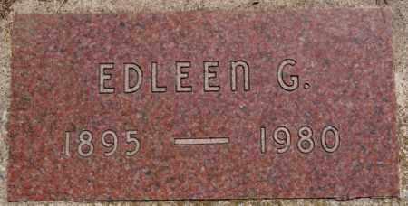 ULMER, EDLEEN G - Hutchinson County, South Dakota | EDLEEN G ULMER - South Dakota Gravestone Photos
