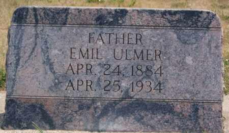 ULMER, EMIL - Hutchinson County, South Dakota | EMIL ULMER - South Dakota Gravestone Photos