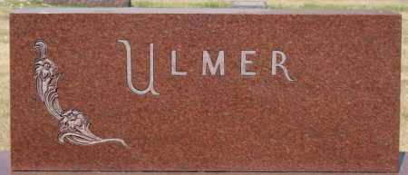 ULMER, FAMILY MARKER - Hutchinson County, South Dakota | FAMILY MARKER ULMER - South Dakota Gravestone Photos
