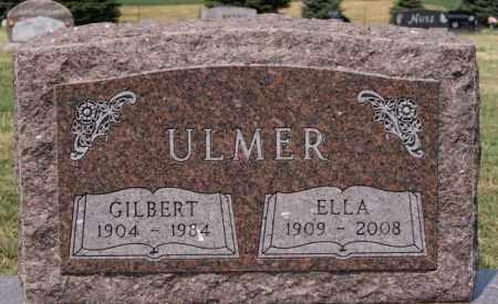 ULMER, GILBERT - Hutchinson County, South Dakota   GILBERT ULMER - South Dakota Gravestone Photos