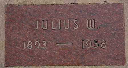 ULMER, JULIUS W - Hutchinson County, South Dakota | JULIUS W ULMER - South Dakota Gravestone Photos