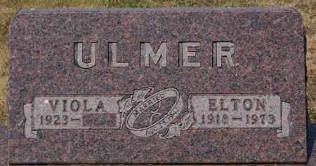 ULMER, ELTON - Hutchinson County, South Dakota | ELTON ULMER - South Dakota Gravestone Photos
