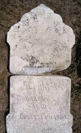 SCHRAMM, FREDERICKA - Hutchinson County, South Dakota | FREDERICKA SCHRAMM - South Dakota Gravestone Photos