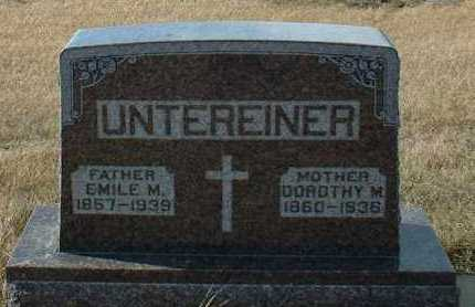 UNTEREINER, DOROTHY - Hutchinson County, South Dakota | DOROTHY UNTEREINER - South Dakota Gravestone Photos