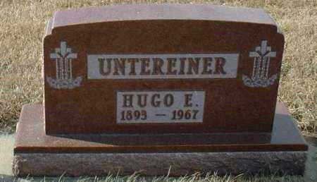 UNTEREINER, HUGO - Hutchinson County, South Dakota | HUGO UNTEREINER - South Dakota Gravestone Photos