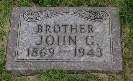 VETTER, JOHN G - Hutchinson County, South Dakota | JOHN G VETTER - South Dakota Gravestone Photos