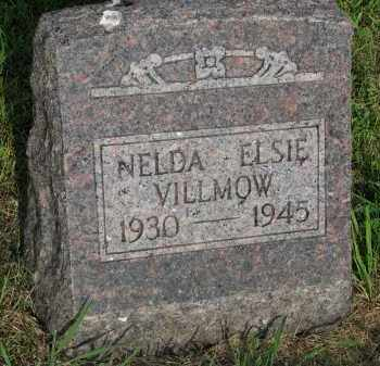 VILLMOW, NELDA ELSIE - Hutchinson County, South Dakota | NELDA ELSIE VILLMOW - South Dakota Gravestone Photos