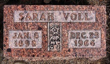 VOLL, SARAH - Hutchinson County, South Dakota | SARAH VOLL - South Dakota Gravestone Photos