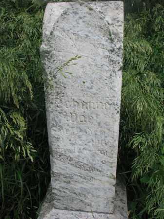 WAHL, JOHANNES - Hutchinson County, South Dakota   JOHANNES WAHL - South Dakota Gravestone Photos