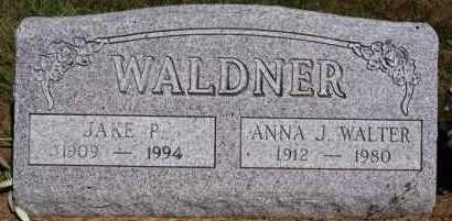 WALDNER, JAKE P - Hutchinson County, South Dakota | JAKE P WALDNER - South Dakota Gravestone Photos