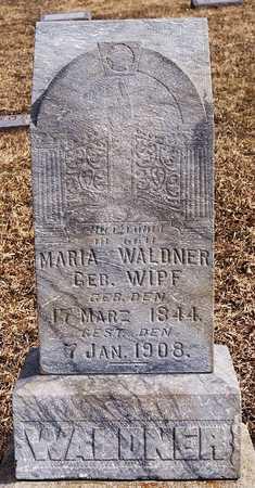 WIPF WALDNER, MARIA - Hutchinson County, South Dakota | MARIA WIPF WALDNER - South Dakota Gravestone Photos