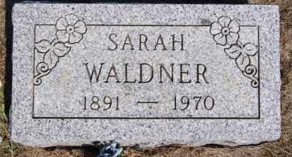 WALDNER, SARAH - Hutchinson County, South Dakota | SARAH WALDNER - South Dakota Gravestone Photos
