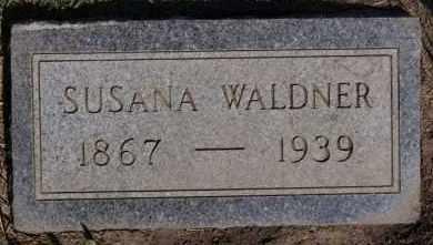 WALDNER, SUSANA - Hutchinson County, South Dakota | SUSANA WALDNER - South Dakota Gravestone Photos