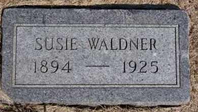 WALDNER, SUSIE - Hutchinson County, South Dakota | SUSIE WALDNER - South Dakota Gravestone Photos