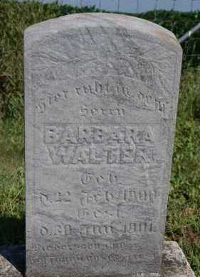 WALTER, BARBARA - Hutchinson County, South Dakota | BARBARA WALTER - South Dakota Gravestone Photos