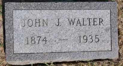 WALTER, JOHN J - Hutchinson County, South Dakota | JOHN J WALTER - South Dakota Gravestone Photos