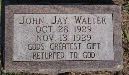 WALTER, JOHN JAY - Hutchinson County, South Dakota | JOHN JAY WALTER - South Dakota Gravestone Photos