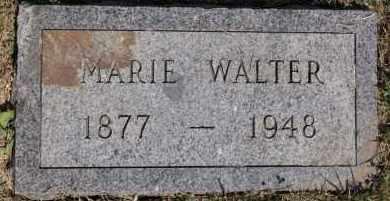 WALTER, MARIE - Hutchinson County, South Dakota | MARIE WALTER - South Dakota Gravestone Photos
