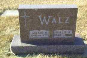 WALZ, AELRED - Hutchinson County, South Dakota | AELRED WALZ - South Dakota Gravestone Photos