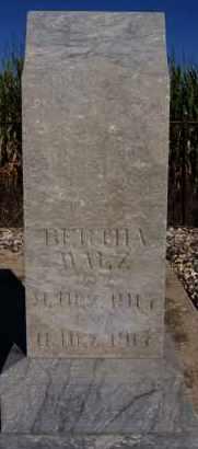 WALZ, BERTHA - Hutchinson County, South Dakota | BERTHA WALZ - South Dakota Gravestone Photos