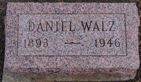 WALZ, DANIEL - Hutchinson County, South Dakota | DANIEL WALZ - South Dakota Gravestone Photos