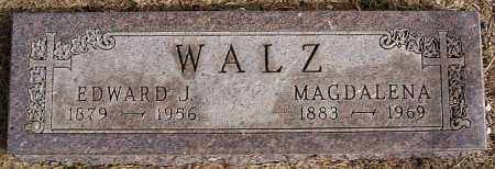 WALZ, EDWARD J - Hutchinson County, South Dakota | EDWARD J WALZ - South Dakota Gravestone Photos