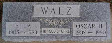 WALZ, ELLA - Hutchinson County, South Dakota | ELLA WALZ - South Dakota Gravestone Photos