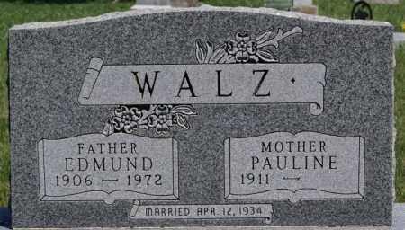 WALZ, PAULINE - Hutchinson County, South Dakota | PAULINE WALZ - South Dakota Gravestone Photos