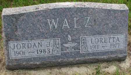 WALZ, JORDAN J - Hutchinson County, South Dakota | JORDAN J WALZ - South Dakota Gravestone Photos