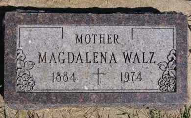 WALZ, MAGDALENA - Hutchinson County, South Dakota | MAGDALENA WALZ - South Dakota Gravestone Photos