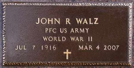 WALZ, JOHN R (WWII) - Hutchinson County, South Dakota | JOHN R (WWII) WALZ - South Dakota Gravestone Photos