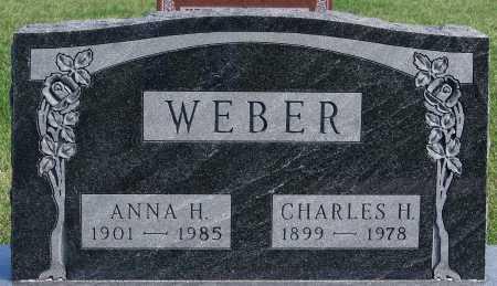 WEBER, CHARLES H. - Hutchinson County, South Dakota | CHARLES H. WEBER - South Dakota Gravestone Photos