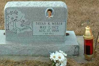 WEBER, BRYAN - Hutchinson County, South Dakota | BRYAN WEBER - South Dakota Gravestone Photos