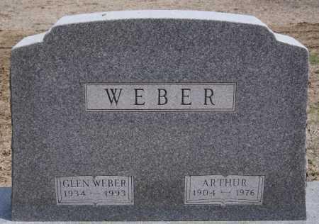 WEBER, GLEN - Hutchinson County, South Dakota | GLEN WEBER - South Dakota Gravestone Photos