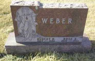 WEBER, HUBERT - Hutchinson County, South Dakota | HUBERT WEBER - South Dakota Gravestone Photos
