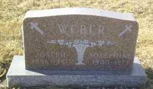 WEBER, JOSEPH - Hutchinson County, South Dakota | JOSEPH WEBER - South Dakota Gravestone Photos