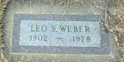 WEBER, LEO - Hutchinson County, South Dakota | LEO WEBER - South Dakota Gravestone Photos