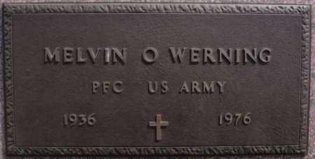 WERNING, MELVIN O (ARMY) - Hutchinson County, South Dakota | MELVIN O (ARMY) WERNING - South Dakota Gravestone Photos
