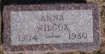 WILCOX, ANNA - Hutchinson County, South Dakota   ANNA WILCOX - South Dakota Gravestone Photos