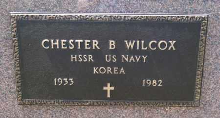 WILCOX, CHESTER B (KOREA) - Hutchinson County, South Dakota | CHESTER B (KOREA) WILCOX - South Dakota Gravestone Photos