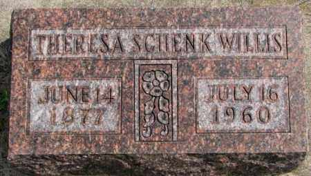 WILLIS, THERESA - Hutchinson County, South Dakota | THERESA WILLIS - South Dakota Gravestone Photos