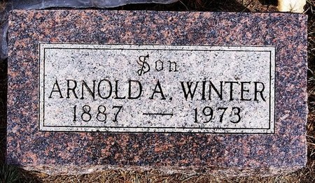 WINTER, ARNOLD A - Hutchinson County, South Dakota | ARNOLD A WINTER - South Dakota Gravestone Photos