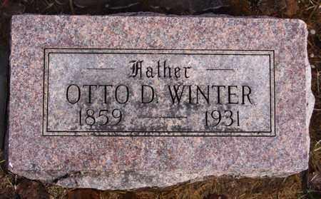 WINTER, OTTO D - Hutchinson County, South Dakota | OTTO D WINTER - South Dakota Gravestone Photos