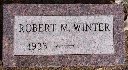 WINTER, ROBERT M - Hutchinson County, South Dakota | ROBERT M WINTER - South Dakota Gravestone Photos